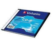 VERBATIM CD-R DL 700MB, 52 Extra Prot. Slim Box foto