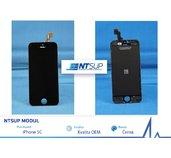 NTSUP LCD modul iPhone 5C černý OEM foto