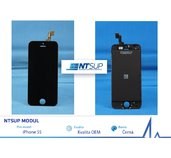 NTSUP LCD modul iPhone 5S černý OEM foto