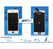 NTSUP LCD modul iPhone 5 bílý OEM foto