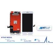 NTSUP LCD modul iPhone 7 PLUS bílý OEM foto