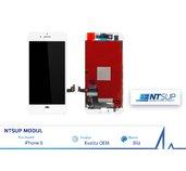 NTSUP LCD modul iPhone 8 bílý OEM foto