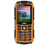 iGET Defender D10 Orange - odolný telefon IP68, DualSIM, 2500 mAh, BT, powerbanka, svítilna, FM, MP3 foto
