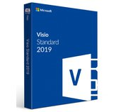 Visio Std 2019 Win Slovak Medialess foto