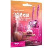 T-Mobile SIM Twist S námi, 2GB foto