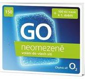 O2 Předplacená karta Go neomezeně foto