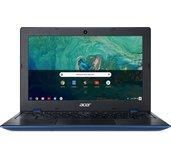 """Acer Chromebook 11 - 11""""/N3450/4G/32GB/Chrome modro-černý foto"""