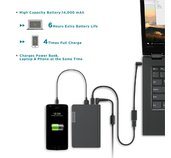 Lenovo USB-C Laptop Power Bank 14000 mAh foto