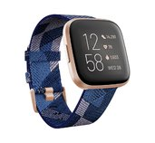 Fitbit Versa 2 Special Edition (NFC) - Navy & Pink Woven foto