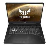 "ASUS TUF Gaming FX705DU - 17,3""/R7-3750H/16GB/1T/54R + 512G PCIE SSD/GTX1660Ti/W10 (Black) foto"