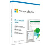 Microsoft 365 Business Standard P6 Mac/Win, 1 rok, CZ foto