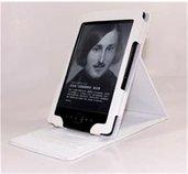 C-TECH pouzdro Amazon Kindle 4/5 se stojan., bílé foto