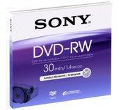 Média DVD-RW DMW-30 SONY pro DVD kamery, 8cm foto