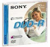 Média DVD-R DMR-30 SONY pro DVD kamery, 8cm foto