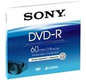 Média DVD-R DMR-60A SONY pro DVD kamery, 8cm foto