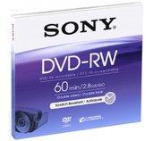 Média DVD-RW DMW-60A SONY pro DVD kamery, 8cm foto
