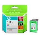 HP 351XL - 3barevná inkoustová kazeta, CB338EE foto