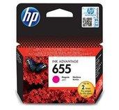 HP 655 purpurová inkoustová kazeta, CZ111AE foto