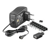 Univerzální napájecí adaptér 230V/3-12V foto