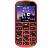 ALIGATOR A880 GPS Senior červený +st. nab. foto