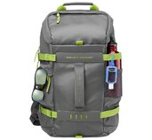 HP 15.6 Grey Odyssey Backpack foto