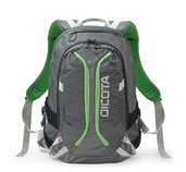 Dicota Backpack Active 14-15.6 grey/lime foto