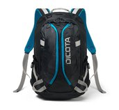 Dicota Backpack Active XL 15-17.3 black/blue foto