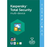 Kaspersky Total Security MD 2017 CZ, 3x, 1 rok  foto