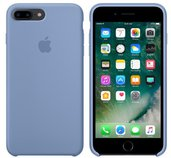 iPhone 7 Plus Silicone Case - Azure foto