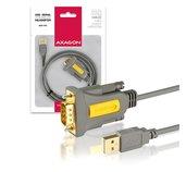 AXAGON USB2.0 - seriový RS-232 screw adapter 1,5m foto
