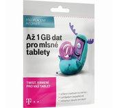 T-Mobile SIM s kreditem 410Kč Twist Online 1GB foto