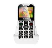 EVOLVEO EasyPhone XD, telefon pro seniory, bílý foto
