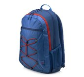 HP 15.6 Active Backpack (Marine Blue/Coral Red) foto