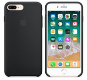 iPhone 8 Plus / 7 Plus Silicone Case - Black foto