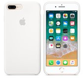 iPhone 8 Plus / 7 Plus Silicone Case - White foto