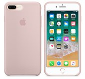 iPhone 8 Plus / 7 Plus Silicone Case - Pink Sand foto