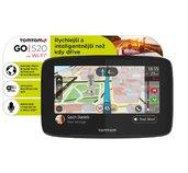 TomTom GO 520 World, Wi-Fi, LIFETIME mapy foto