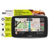 TomTom GO 5200 World, Wi-Fi, LIFETIME mapy foto