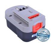 Baterie AVACOM BLACK & DECKER A144, A1714 Ni-MH 14,4V 3000mAh, články PANASONIC foto
