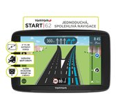 TomTom START 62 Europe, LIFETIME mapy foto