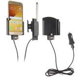 Brodit držák do auta nastavitelný s USB-C a nabíjením z cig. zapalovače/USB š.62-77 mm, tl. 6-10 foto