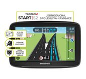 TomTom START 52 Europe, LIFETIME mapy foto