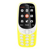 Nokia 3310 Dual SIM 2017 Yellow foto
