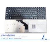 NTSUP Klávesnice pro Acer Aspire 5755 5830 V3-551 V3-571 V3-771 černá CZ/SK bez rámečku foto