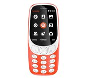 Nokia 3310 Single SIM 2017 Red foto