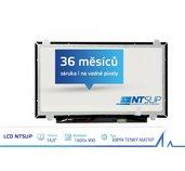 """LCD PANEL NTSUP 14,0"""" 1600x900 30PIN TENKÝ MATNÝ foto"""