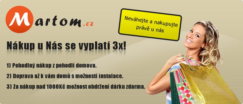 Martom.cz - Nákup u nás se vyplatí 3x
